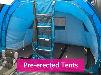 bring your own tents